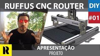 PRO CNC Caseira com Arduino - Apresentação (Ruffus DIY)