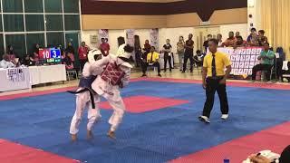 Taekwondo SUKIPT 2018- DHAASSHENI VS NUR BAITI