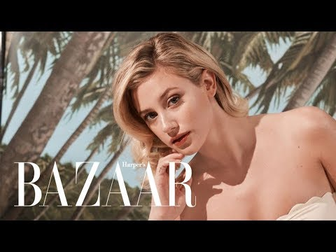 Xxx Mp4 Riverdale Star Lili Reinhart Channels The Icons Of Old Hollywood Harper 39 S BAZAAR 3gp Sex