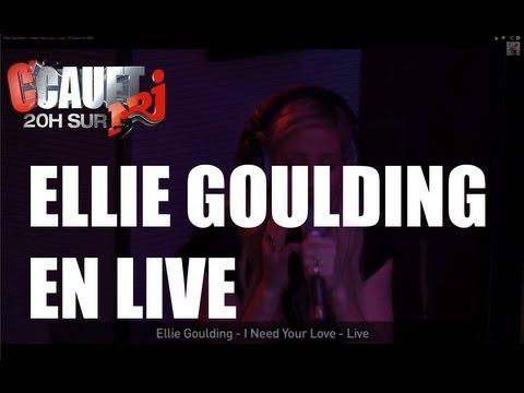 Ellie Goulding I Need Your Love Live C Cauet Sur Nrj