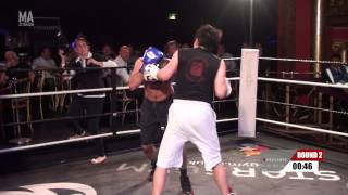 Xposure Fight 1 Imran Raja - Crawley vs Jang Gun Park - Stick n Move
