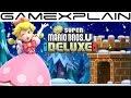 10 Minutes of Peachette Gameplay in New Super Mario Bros. U Deluxe! (& Toadette!)