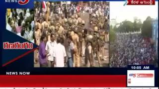Kerala Finance Minister Spends Night in Assembly, Police & Political Leaders Fight : TV5 News