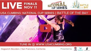 2017 Battle of The Bay at Dogpatch Boulders  • USA Climbing National Cup Series