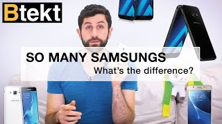 Samsung Galaxy J3, J5 2016 vs A3, A5 2017... what's the difference?