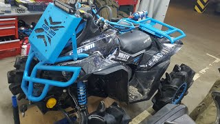 2018 russia build on a can am xmr renegade