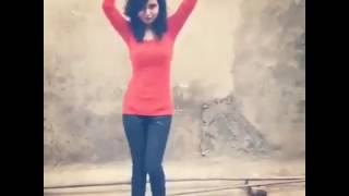 Tu Cheez Badi Hai Mast Dance । Bangladeshi sexy girl Aishrin Ali hot dance