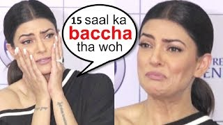 Sushmita Sen CRYING After A 15 Year Boy TOUCHED Her From Behind In Public