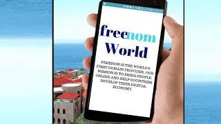 Freenom world (get free domain name)