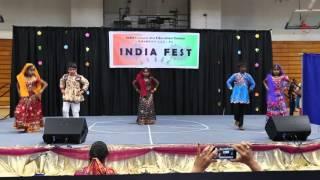 2016 India Fest Rajasthani Dance Kids