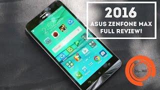 New 2016 Asus Zenfone Max Full Review! (India) | (5,000 mAh Battery)