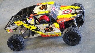 RC ADVENTURES - JUMPiNG A HUUGE RC TRUCK! The KRAKEN VEKTA 5 - FiRST WINTER BASH SESSiON!