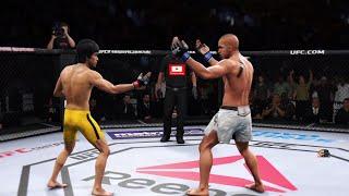 BRUCE LEE Vs TONG PO 2K19 | EA SPORTS UFC 3