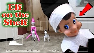 Elf on the Shelf Caught on Camera! Every Clip in one Video!! Trinity and Beyond