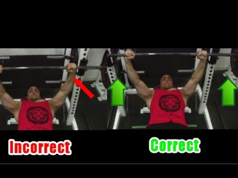#1 BENCH PRESS TIP for Triceps + Fixing Shoulder Pain: Seperating the Bar