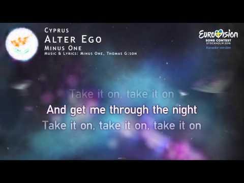 Minus One - Alter Ego (Cyprus) - [Karaoke version]
