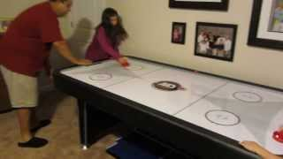 Christmas Morning Surprise! Air Hockey Table! OH YEAH!