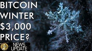 Bitcoin Price Winter - Will We Break Below $3,000?