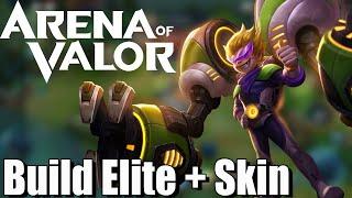 Max - Build Elite + Skin - Arena of Valor