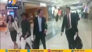 Minister KTR Leaves for World Economic Forum meet