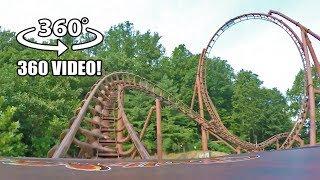 Tennessee Tornado VR 360 Roller Coaster POV Dollywood