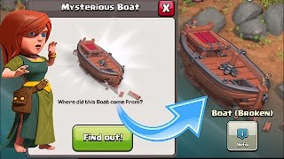 Clash of Clans😀THE SHIP IS HERE😀NEW UPDATE!?!