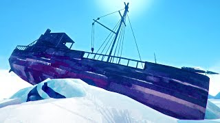 SURVIVOR LOCATES GHOST SHIP WITH POWERFUL FORGE INSIDE - The Long Dark Interloper 2017 Gameplay Ep 9