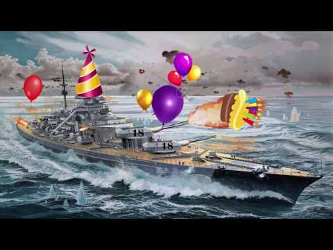 WoWS Sync 3 Happy birthday to me
