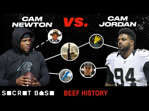 Cam Newton's biggest troll is Cam Jordan and their beef has been entertaining as hell