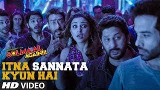 Itna Sannata Kyun Hai Video Song | Golmaal Again | Lijo-Dj Chetas | Amit Mishra, Aditi Singh Sharma