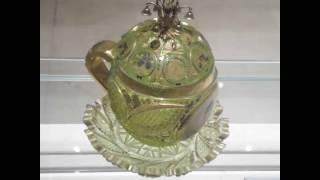 الزجاج بمتحف الفن الاسلامي بالقاهره The Museum of Islamic Art, in Cairo, Egypt