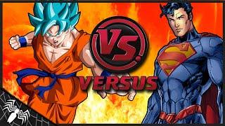 Goku (FNF) vs Superman (New 52). ¿Quien Gana? (Loquendo)