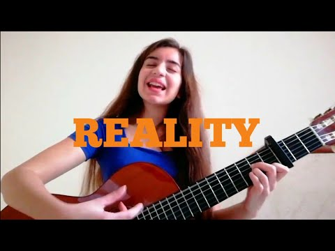 """The first song that I've ever written  """"reality"""""""