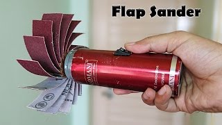 How to Make a Flap Sander at Home