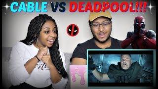 "Deadpool 2 Extended Trailer ""Deadpool, Meet Cable"" REACTION!!!"