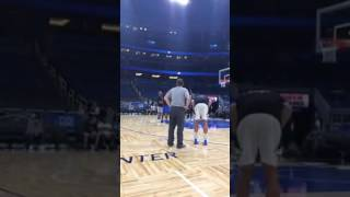Aaron Gordon shows a dunk he never got to do at the Slam Dunk Contest
