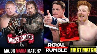 John Cena Royal Rumble 2020, Sheamus First Match, Roman Vs Lesnar? Fiend Unbeatable, WWE Returns2020
