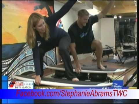 Stephanie Abrams TWC Surfing Workout