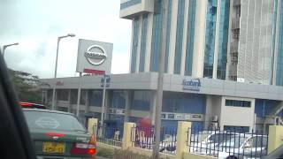 Driving in Airport area/ Legions village areas of Accra Pt. 2