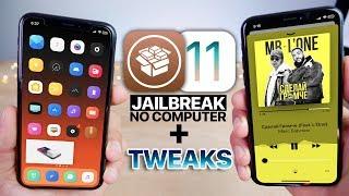 iOS 11.3.1 Jailbreak & Top 25 Tweaks To Install! No Computer