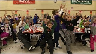 Maple Grove school channels Vikings' excitement with spirit day