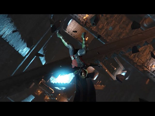 Injustice 2: All Stage Transitions (1080p 60fps)