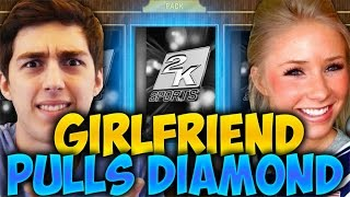 GIRLFRIEND DRAFTS A DIAMOND! NBA 2K16 DRAFT AND PLAY