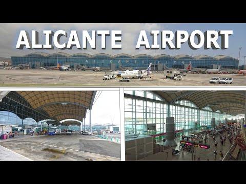 Alicante Airport , Spain - 2016 4K