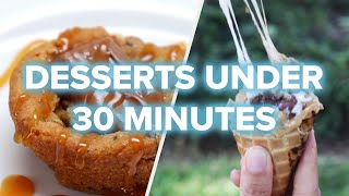 5 Quick Desserts For Last-Minute Parties • Tasty