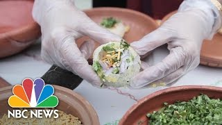 Bangladeshi-American Entrepreneurs Bring Food, Culture Together For Pop-Up Stand | NBC News