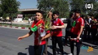 گزارش همایون افغان از جریان برگشت تیم ملی فتسال