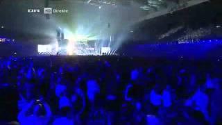 DK X Factor 2011 Live show The Final Aqua feat Babou