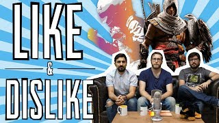 LIKE & DISLIKE: Dragon Ball FighterZ, GT Sport, Assassin's Creed Origins, Canción Mario Odyssey...