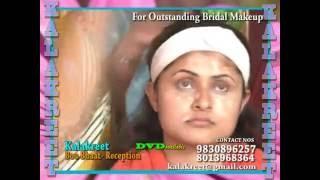 BENGALI BRIDAL MAKE-UP BY KALAKREET (BOU BHAAT RECEPTION)